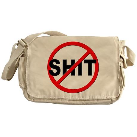 Anti / No Shit Messenger Bag