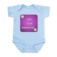 Stylist by day Mommy by night Infant Bodysuit