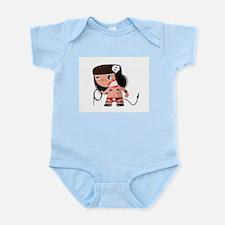 Angry Girl Infant Bodysuit