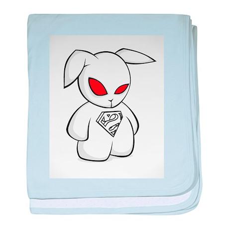 Super Bunny baby blanket