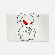Super Bunny Rectangle Magnet