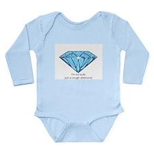 Rough Diamond Long Sleeve Infant Bodysuit
