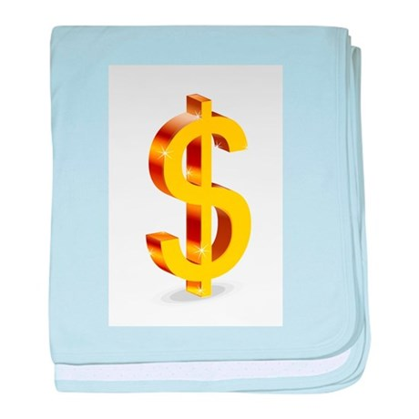 Dollars baby blanket