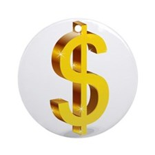 Dollars Ornament (Round)