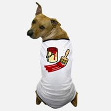 Paint Can & Brush Dog T-Shirt