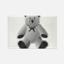 Teddy Rectangle Magnet