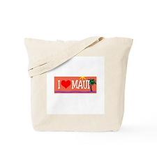 I love Maui Tote Bag
