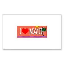 I love Maui Decal