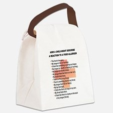 Allergic Reaction Canvas Lunch Bag