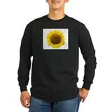 Sunflower Long Sleeve T-shirts (Dark)