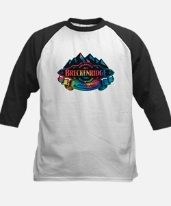 Breckenridge Mountain Emblem Kids Baseball Jersey