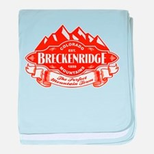 Breckenridge Mountain Emblem baby blanket