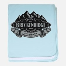 Breckenridge Mountain Emblem baby blanket