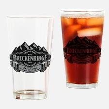 Breckenridge Mountain Emblem Drinking Glass