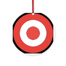 Bullseye Ornament (Round)
