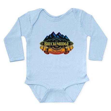 Breckenridge Mountain Emblem Long Sleeve Infant Bo