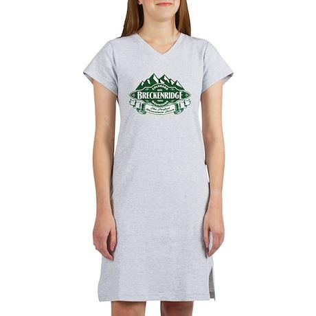 Breckenridge Mountain Emblem Women's Nightshirt