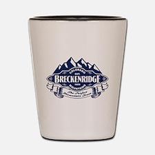 Breckenridge Mountain Emblem Shot Glass