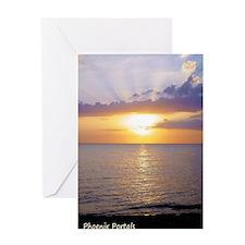 Greeting Card - Guantanamo Bay Sunset