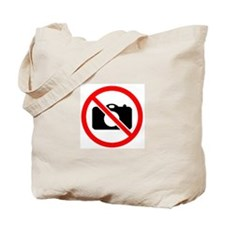 No Pictures allowed Tote Bag