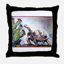 Desert tortoise! Wildlife art! Throw Pillow