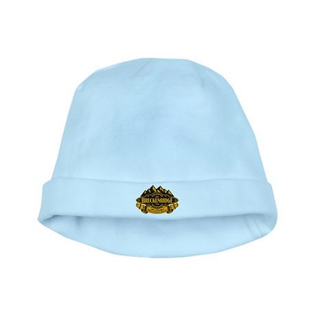 Breckenridge Mountain Emblem baby hat