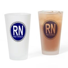 Royal Navy Retired Drinking Glass