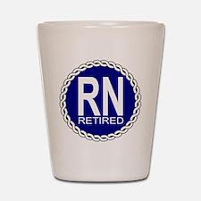 Royal Navy Retired Shot Glass