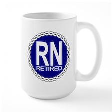 Royal Navy Retired Mug