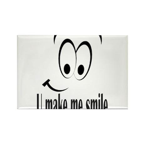 U make me smile Rectangle Magnet