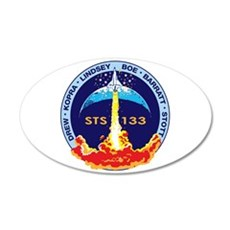 STS-133 Wall Decal
