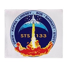 STS-133 Throw Blanket