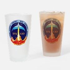 STS-133 Drinking Glass