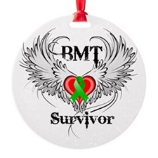 Survivor Bone Marrow Transplant Ornament
