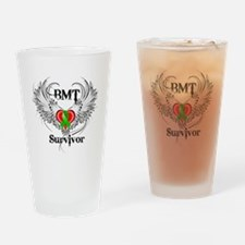 Survivor Bone Marrow Transplant Drinking Glass