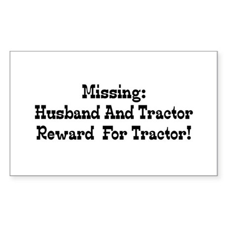 Missing Husband And Tractor Reward For Tractor Sti