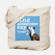 Treat Dog Tote Bag