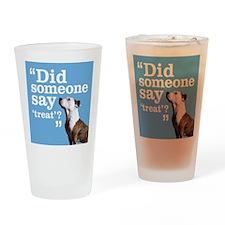 Treat Dog Drinking Glass