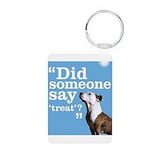 Treat Dog Keychains