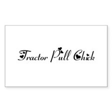 Tractor Pull Chick Decal