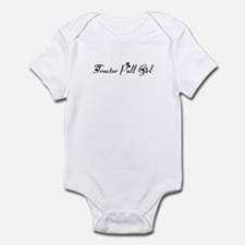 Tractor Pull Girl Infant Bodysuit