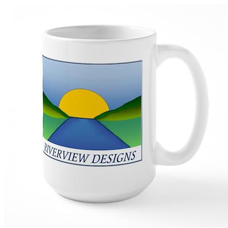 Riverview Designs Logo Large Mug
