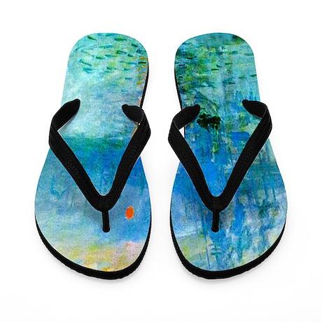 2-Monetfishers.bmp Flip Flops