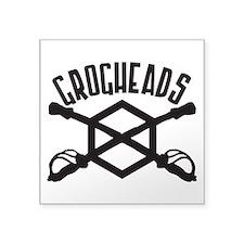 """GrogHeads Logo (BIG) Square Sticker 3"""" x 3&qu"""