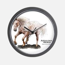 Appaloosa Horse Wall Clock