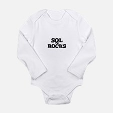 SQL ROCKS Infant Creeper Body Suit