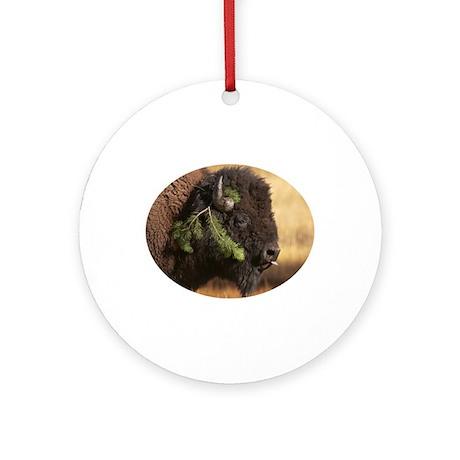 Holiday Mischief Ornament (Round)