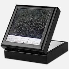 Snowy Pines - Keepsake Box