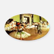 dance class calendar oversized.jpg Oval Car Magnet
