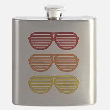 Retro 80s Shades Flask